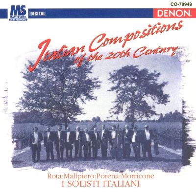 Italian Compositions of the 20th Century