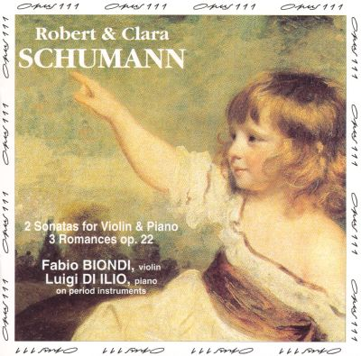 Romances (3) for violin & piano, Op. 22