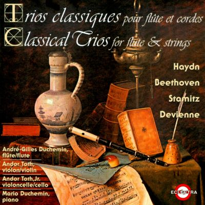 Classical Trios for flute & strings