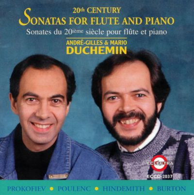 20th Century Sonatas for Flute and Piano