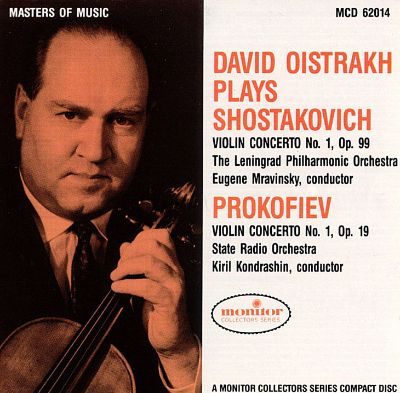 Violin Concerto No. 1 in A minor, Op. 77 (published as Op. 99)