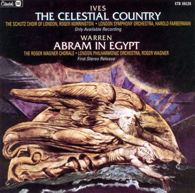 The Celestial Country, cantata for 2 soloists, 2 vocal quartets, chorus, winds, strings & organ, S. 143 (K. 5A1)