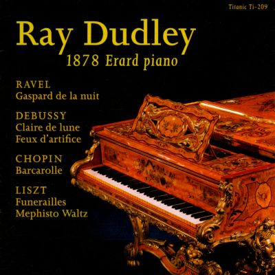 Ray Dudley on the 1878 Erard piano