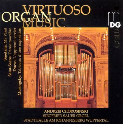 Virtuoso Organ Music