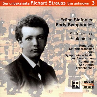 Strauss, the Unknown, Vol. 3: Early Symphonies