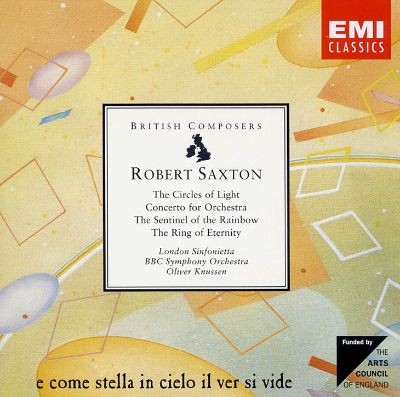 Robert Saxton: The Circles of Light; Concerto for Orchestra; The Sentinel of the Rainbow; The Ring of Eternity