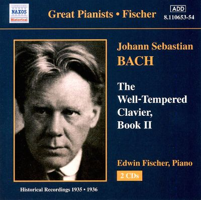 JS Bach: The Well Tempered Clavier Books 1 & 2