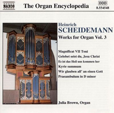 Praeambulum for organ in F major, WV 39