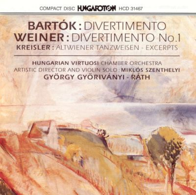 Divertimento No. 1, (Old Hungarian Dances), Op. 20