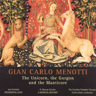 Menotti: The Unicorn, the Gorgon and the Manticore