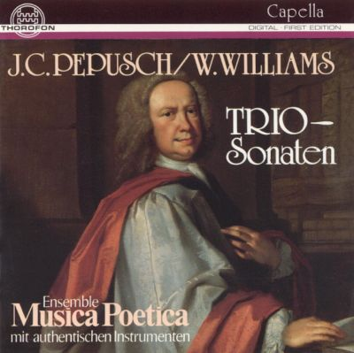 J.C. Pepusch, W. Williams: Trio-Sonaten
