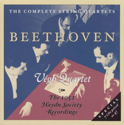 Beethoven: The Complete String Quartets [1952]