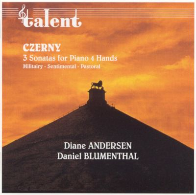 Czerny: Three Sonatas for Piano Four Hands