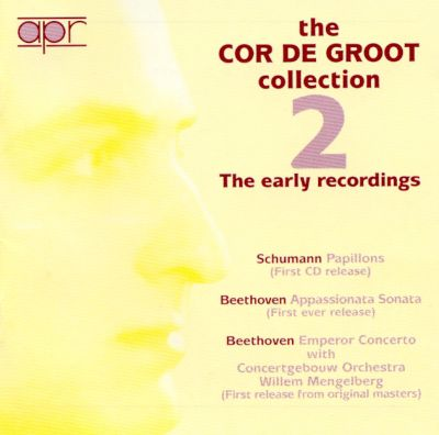 The Cor De Groot Collection 2: The Early Recordings