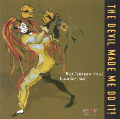 The Devil Made Me Do It!: Diabolical Sonatas for Viola & Keyboard