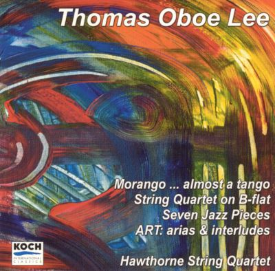 Almost a Tango: Music for String Quartet by Thomas Oboe Lee