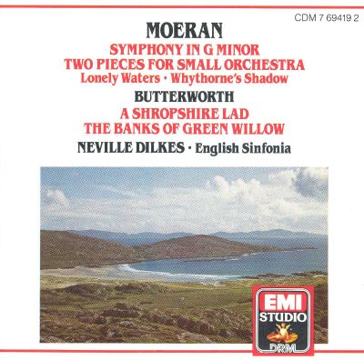 Moeran: Symphony in G minor; Two Pieces for Small Orchestra