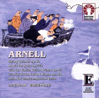Arnell: String Quintet; Music for Harp