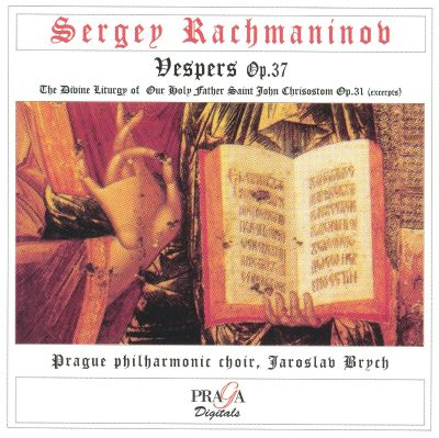 Vespers (All-Night Vigil), for alto, tenor & chorus, Op. 37