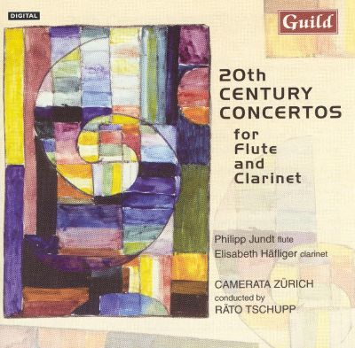 20th Century Concertos for Flute and Clarinet