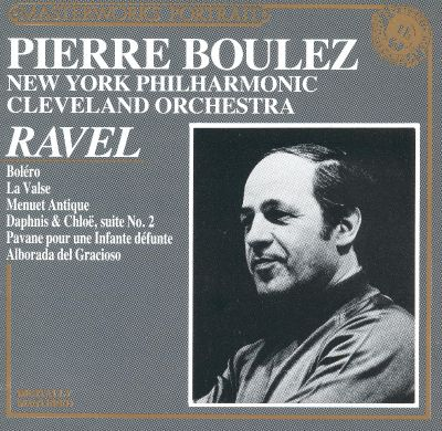 Pierre Boulez Conducts Ravel