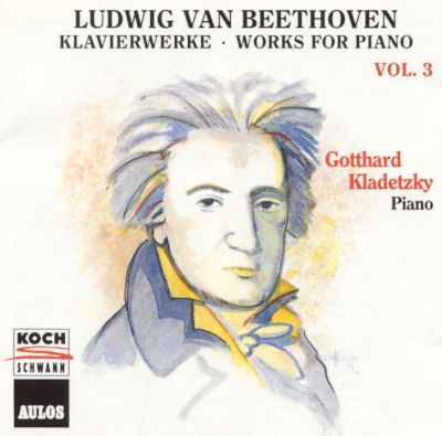 Beethoven: Works for Piano, Vol. 3