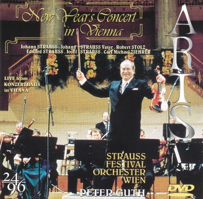New Year's Eve Concert in Vienna DVD - Peter Guth ...