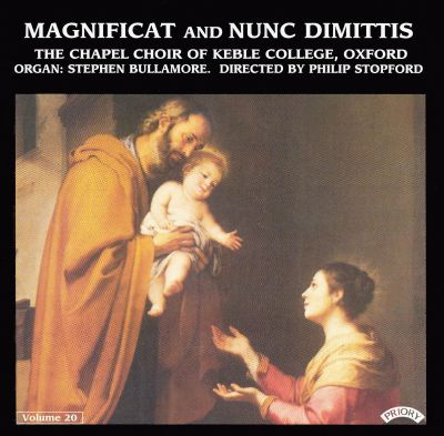 Magnificat and Nunc Dimittis, Vol. 20