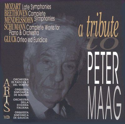 A Tribute to Peter Maag