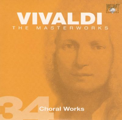 Vivaldi, Vol. 34: Choral Works