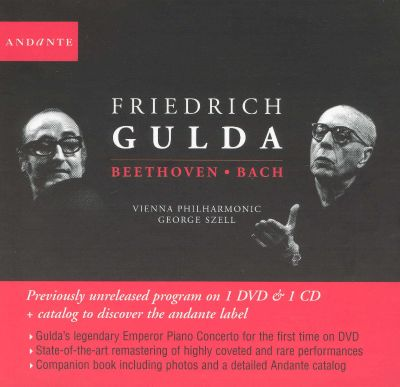 Friedrich Guld Plays Beethoven & Bach [includes DVD]