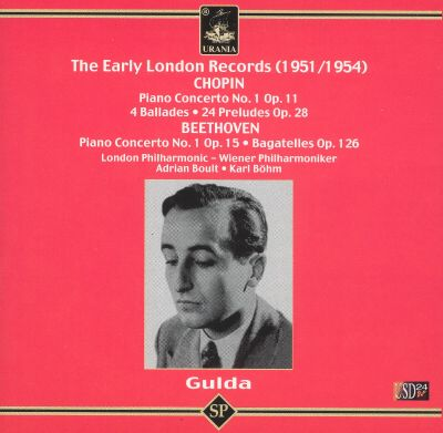 Early London Records: Chopin, Beethoven