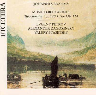 Brahms: Music for Clarinet