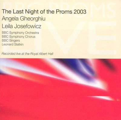 The Last Night of the Proms 2003