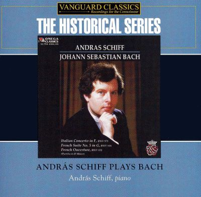 J.S. Bach: Italian Concerto; French Suite No. 5; French Overture