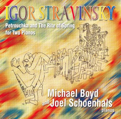 Igor Stravinsky: Petrouchka and the Rite of Spring for Two Pianos