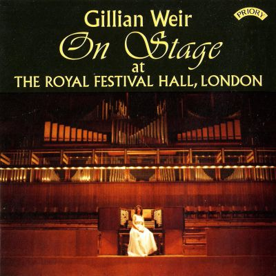 Gillian Weir on Stage at the Royal Festival Hall, London