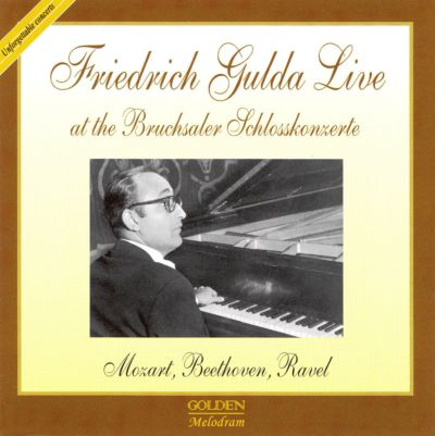 Friedrich Gulda Live at the Bruchsaler Schlosskonzerte