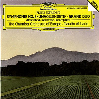"Franz Schubert: Symphonie No. 8 ""Unvollendete""; Grand Duo"