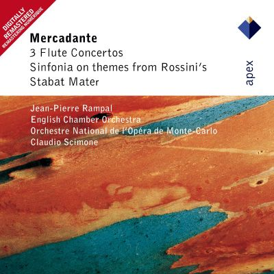 Mercadante: 3 Flute Concertos; Sinfonia On Themes From Rossini's Stabat Mater