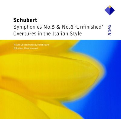 """Schubert: Symphonies Nos. 5 & 8 """"Unfinished""""; Overtures in the Italian Style"""