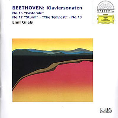 Beethoven: Piano Sonatas Nos. 15, 17, 18 [Germany]