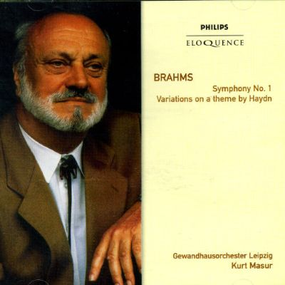 Brahms: Symphony No. 1; Variations on a theme by Haydn [Australia]