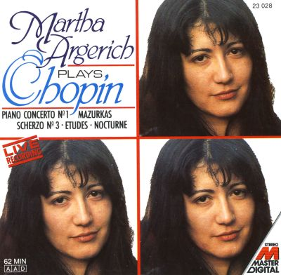 Martha Argerich Plays Chopin