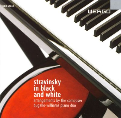 stravinsky in black and white bugallo williams piano duo songs reviews credits awards. Black Bedroom Furniture Sets. Home Design Ideas