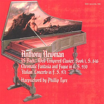 Anthony Newman Plays Bach