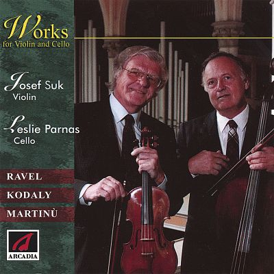 Works for Violin and Cello