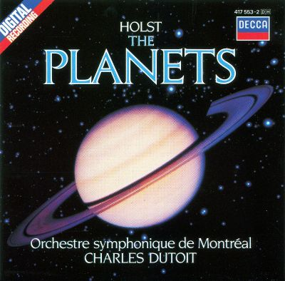 Holst: The Planets - Charles Dutoit,Orchestre Symphonique ...