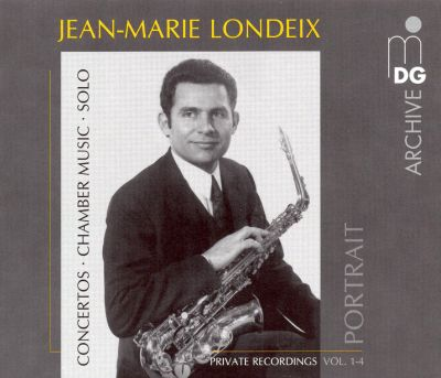 Jean-Marie Londeix Portrait, Private Recordings Vol. 1-4