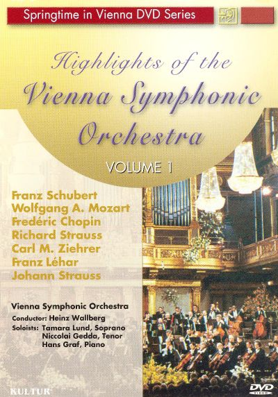 Highlights of the Vienna Symphonic Orchestra, Vol. 1 [DVD Video]